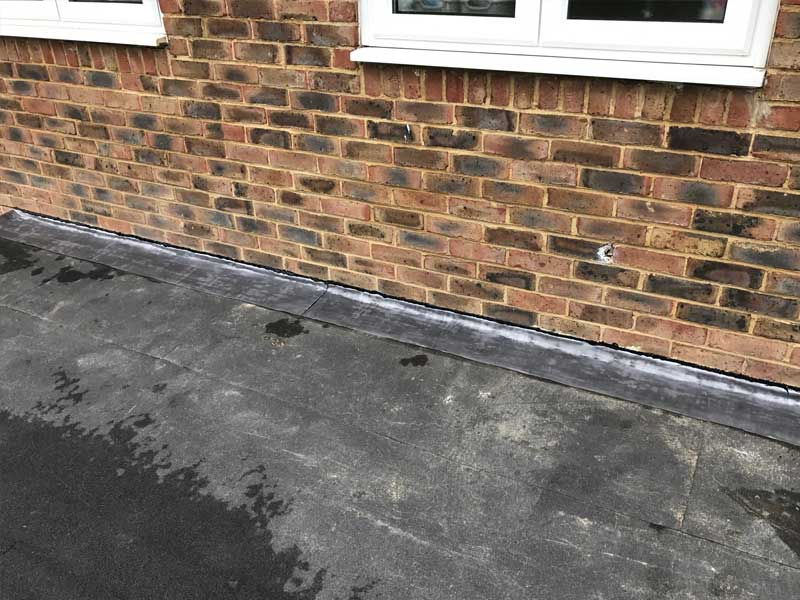 Colorful Flat Roofing Services Leicester