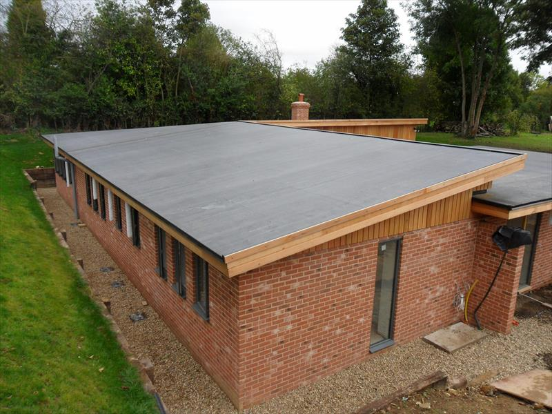 Leicester Colorful Flat Roofing Services