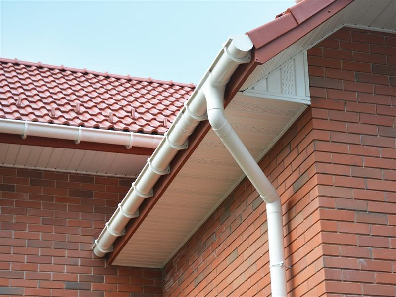 Colorful Soffits replacement services Leicester