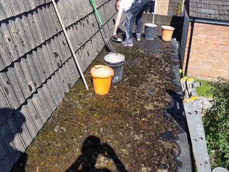 Leicester Standard Flat roofing Installation