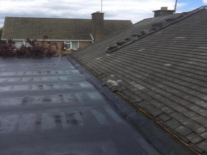 Colorful Flat roofing Installation Leicester