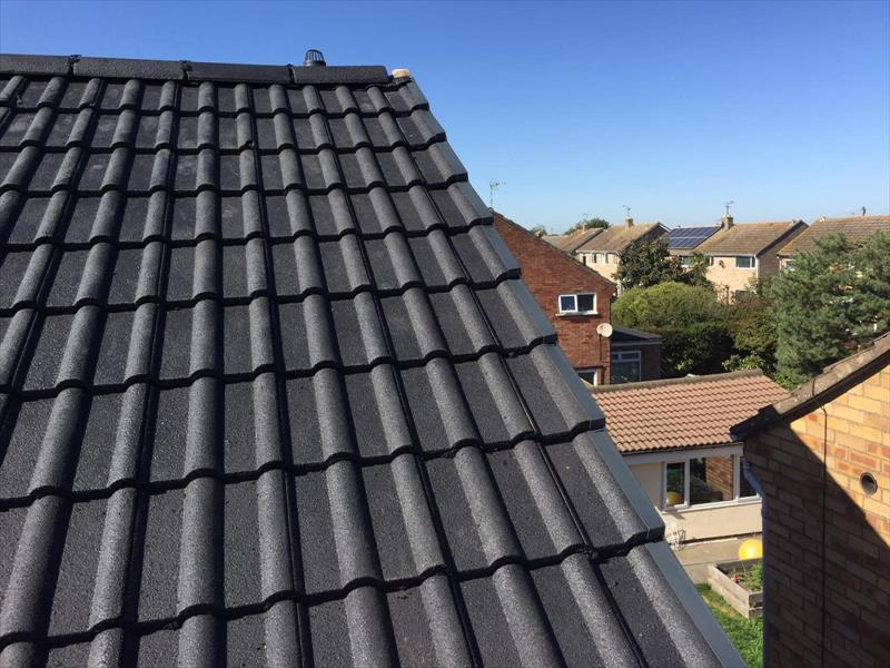 Leicester Colorful Roofing Installation